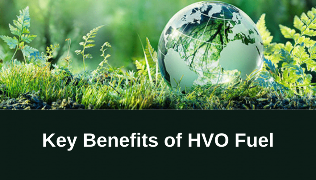 Key benefits of using HVO Fuel