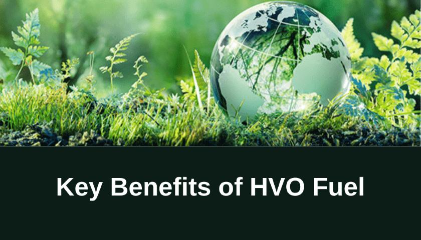 Key benefits of using HVO Fuel